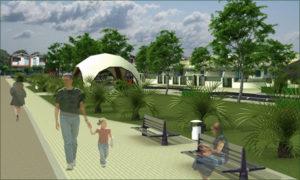 Il parco di Villaggio Verde